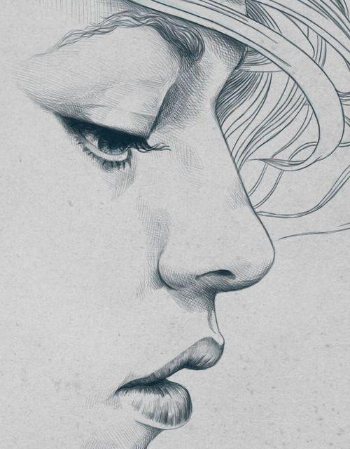 كيفية رسم امرأة تبكي كيفية رسم وجه حزين بقلم رصاص تعليمات خطوة بخطوة