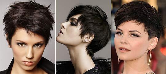 Długie Czarne Włosy Z Grzywką Stylowe Fryzury Dla Brunetek