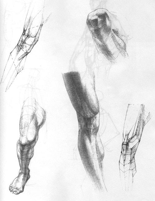 Goli model crtanja